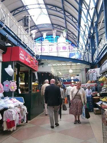 Indoor market in Newport