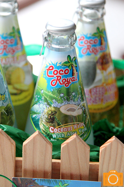 Coco Royal Coconut Water with Aloe Vera