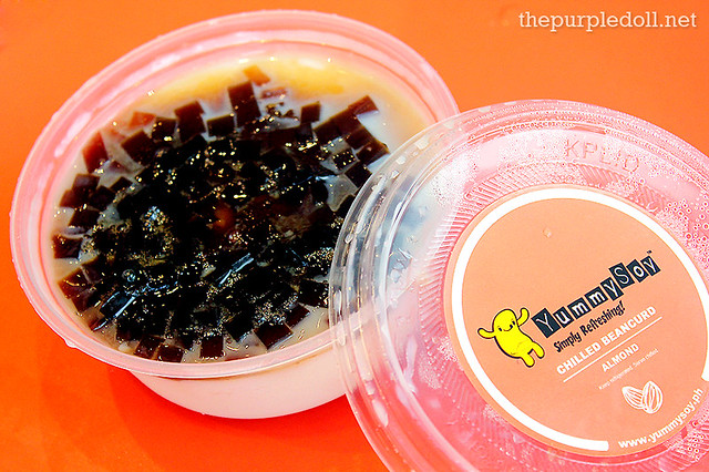 Chilled Beancurd Almond (P85) with Coffee Jelly (P10)