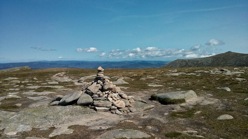 Summit of Carn a'Choire Bhoidheach