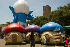 world, recreation, games, inflatable, amusement park,