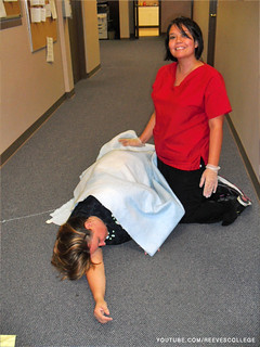 Lethbridge Campus Students Study to Get the Standard First Aid Certificate - Very Well Done Job