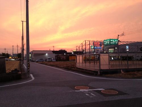 本日の夕景 by haruhiko_iyota