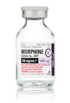 morphine iv 50mg 20ml vial Hospira