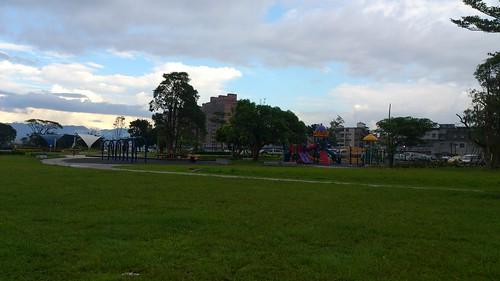 中正橋一帶的公園