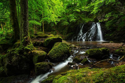 longexposure landscape scotland waterfall highlands rosemarkie blackisle fairyglen