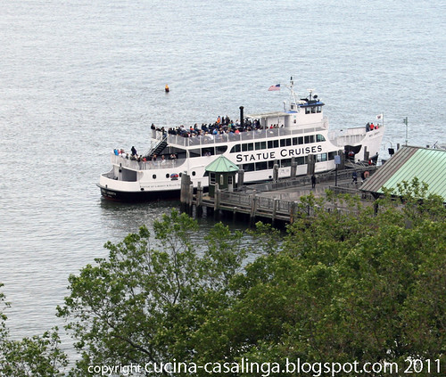Faehre Ellis island