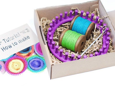 PaperPhine knit basket kit