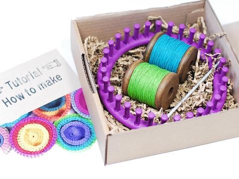 PaperPhine knit basket kit