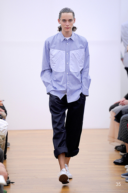 Jaco Van Den Hoven3396_SS14 Paris COMME des GARCONS SHIRT(Fashion Press)