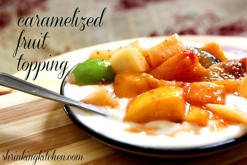 Caramelized Fruit and Yogurt