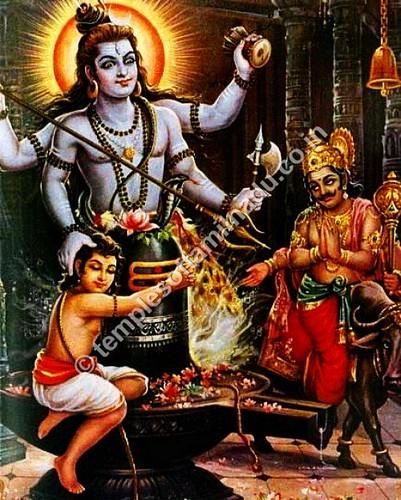 Shiva Saving Markandeya