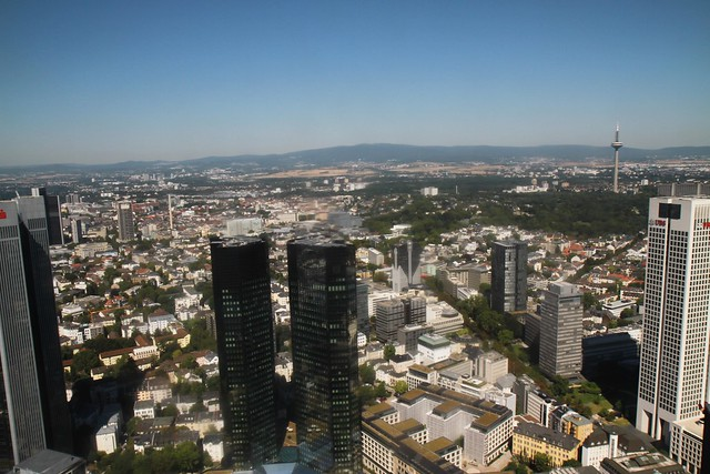view from the main tower