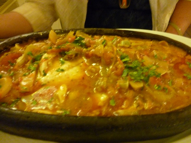 Fish stew at Savoy Balik