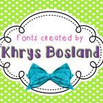 KB Fonts Button