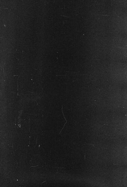 scratched film negative