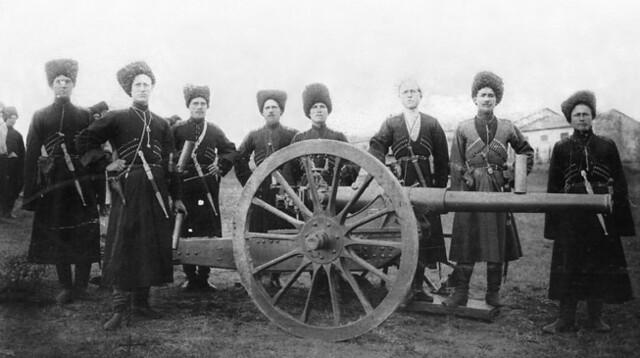 Terek Cossack Artillery