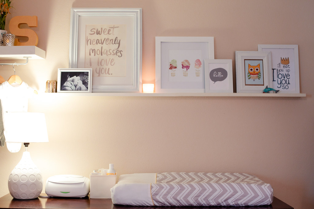 Master Bedroom Nursery makeover-5 - Master Bedroom + Nursery Nook by popular Florida lifestyle blogger Fresh Mommy Blog