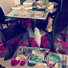 My afternoon #projectlife mess #fmsphotoaday