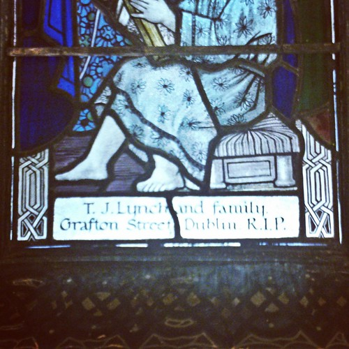 Harry Clarke & Co. window in the Oratory of the Sacred Heart, Dun Laoghaire