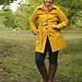 My new yellow coat! by Andrea Ellen P.