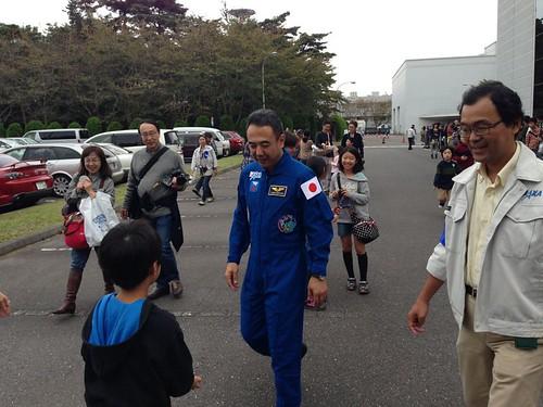 古川宇宙飛行士