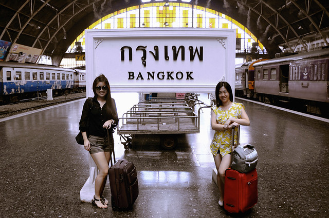 Bangkok Trip by Train: Arrival at Bangkok Train Station