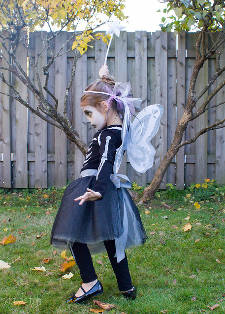 skeleton fairy costume