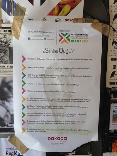 Comala Door: Sabias Que? @ Oaxaca 10.2013