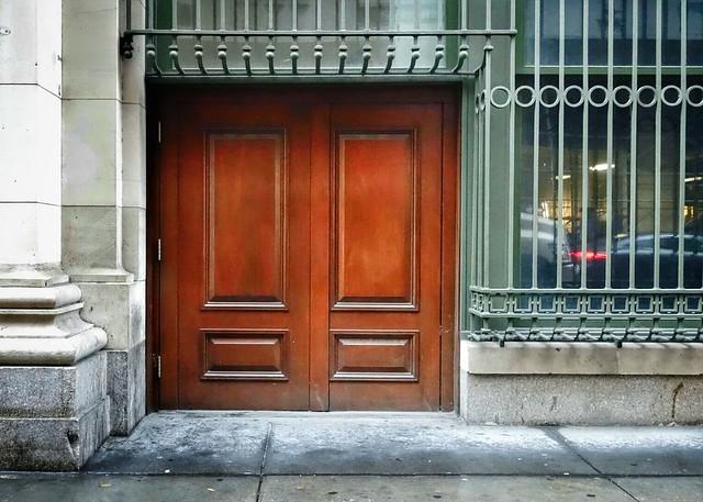 Mystery door #walkingtoworktoday
