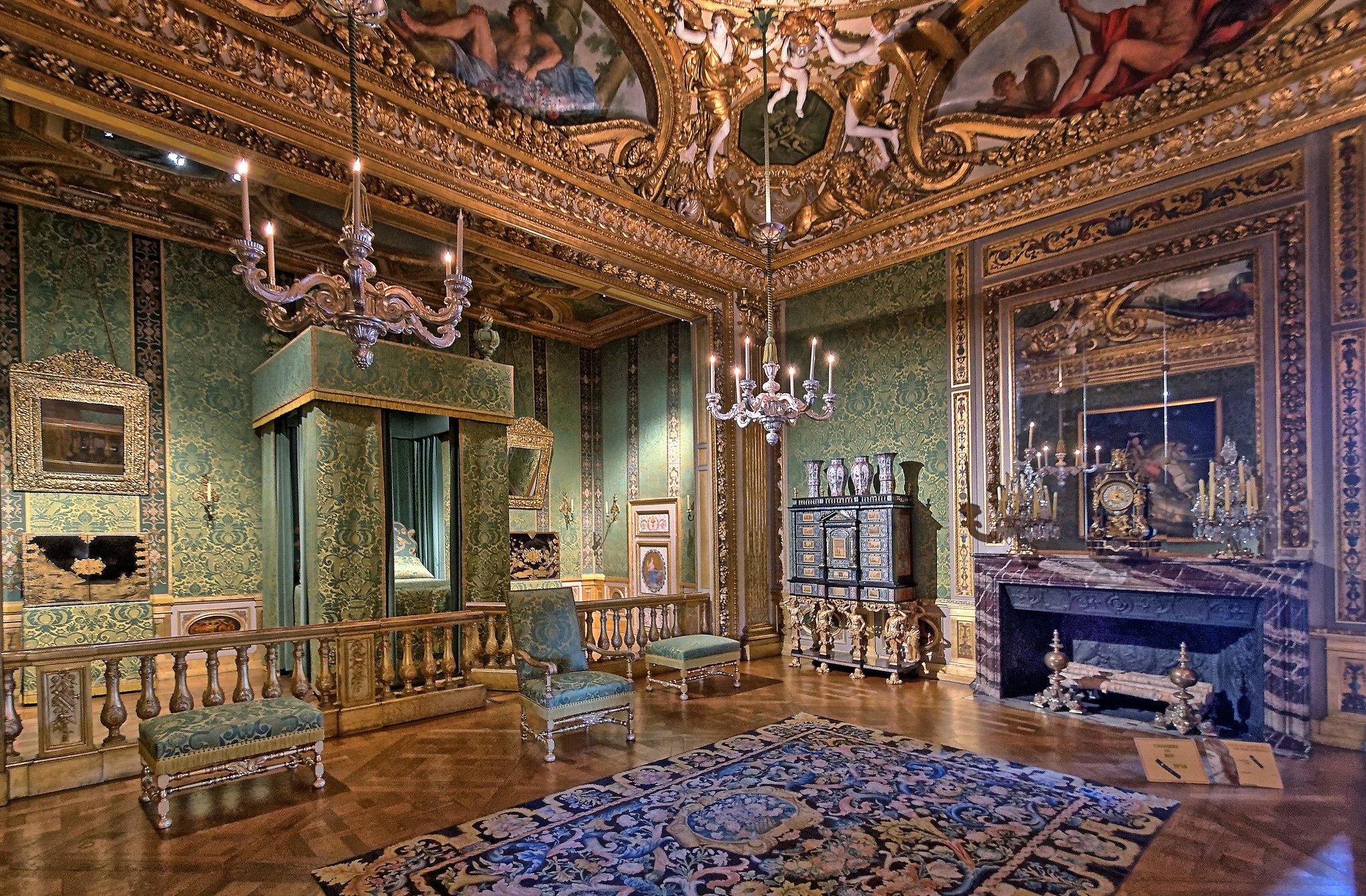 Medieval Bedroom La Chambre Du Roi Ch 226 Teau De Vaux Le Vicomte Pentax K 5