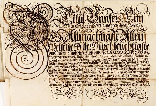 006-Kalligraphische Schriftvorlagen- 1626-1634- Johann Hering- Staatsbibliothek Bamberg