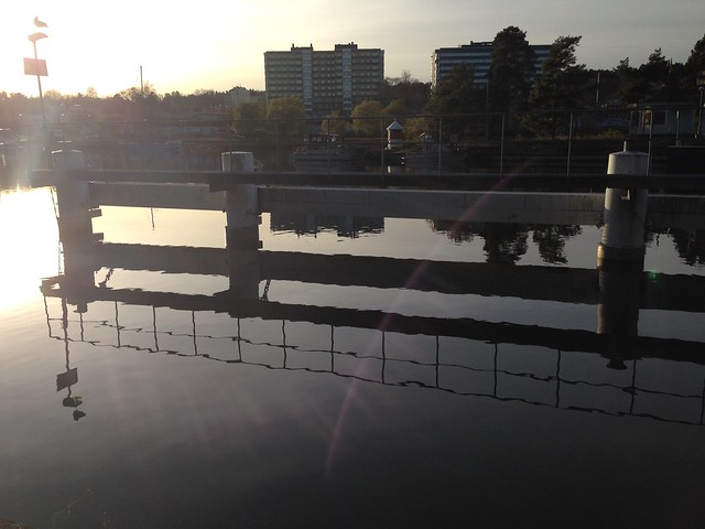 Water and lines