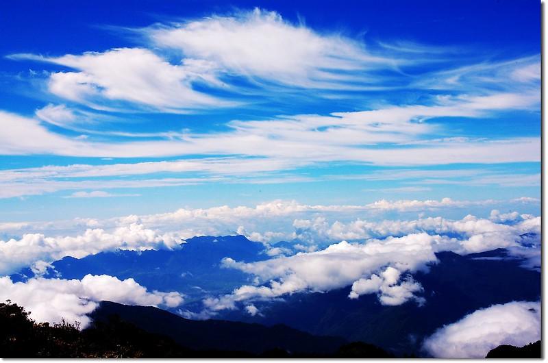 雲海(喀西帕南山頂)