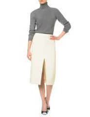Carven_cream_pencil_skirt