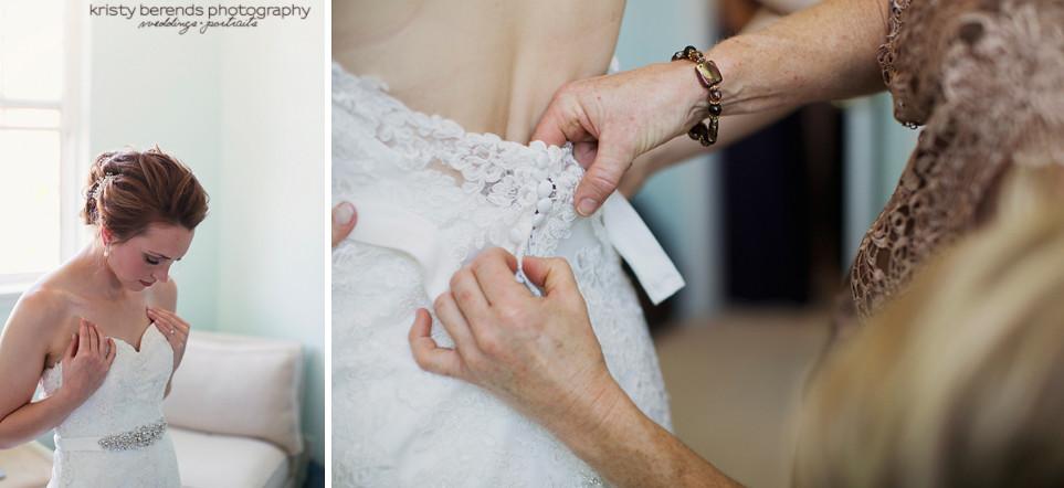 9 Bride Getting Ready