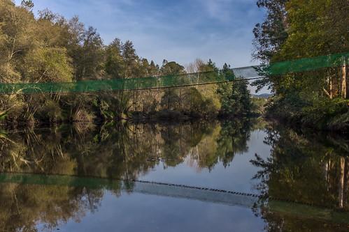 Reflexos no rio agueda
