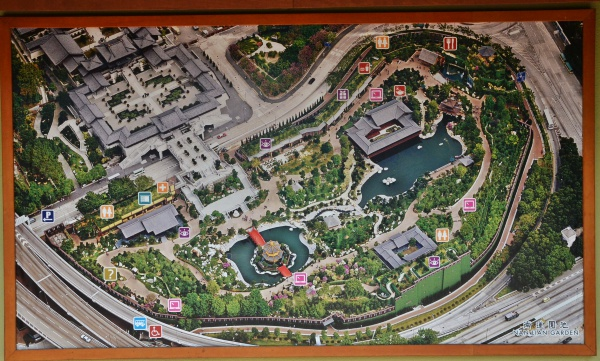 Nan Lian Garden Overview Map