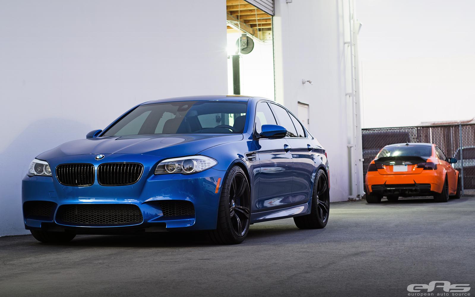 A Clean Monte Carlo Blue F10 M5 Bmw Performance Parts