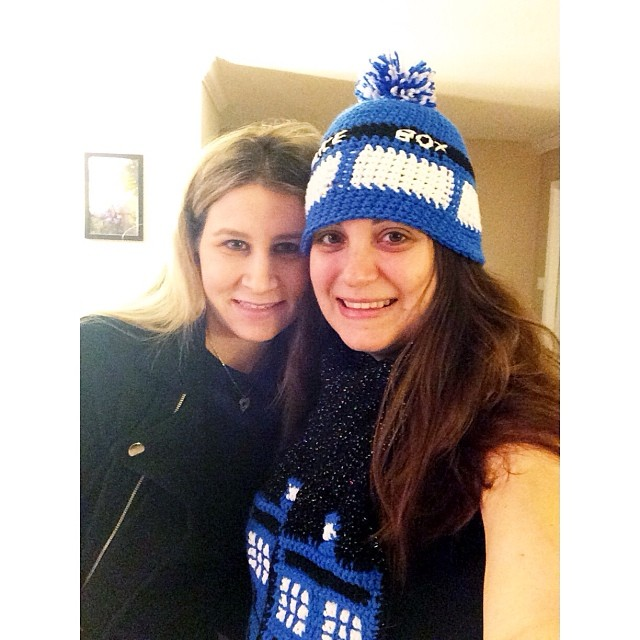 I have the best #bestfriend ever!!!! #tardis #doctorwho #crochet #pictapgo_app