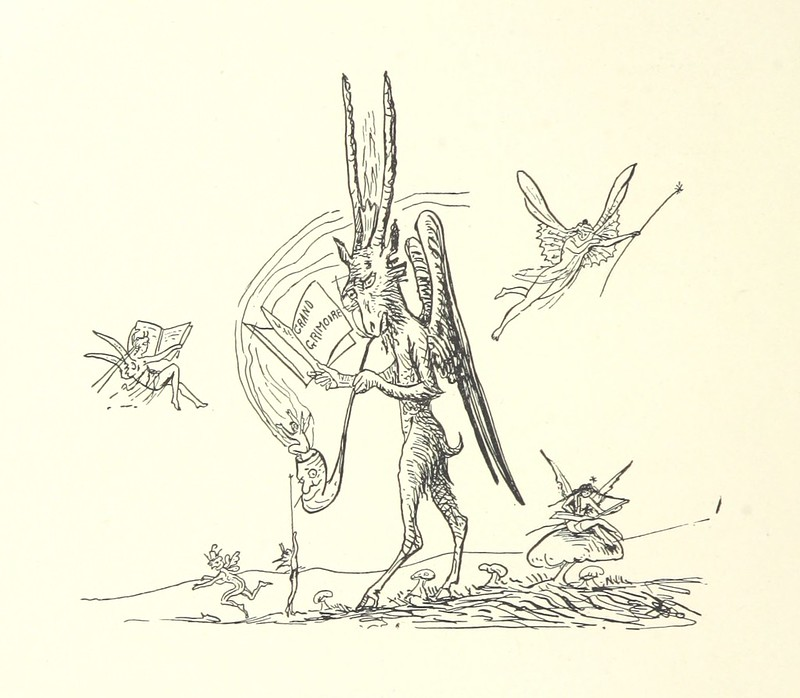 Image taken from page 68 of 'Belle and the Dragon. An elfin comedy'