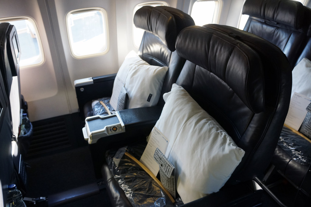 United Airlines Boeing 737 900 Er First Class Cabin 2013