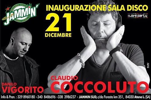 Atena Lucana: Domani sera Claudio Coccoluto e Danilo Vigorito al Jammin