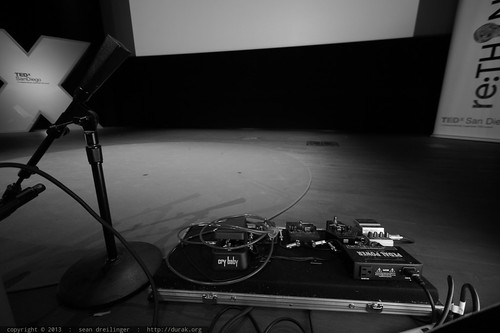 Cellist Tina Guo's Effects Pedalboard   TEDxSanDiego 2013