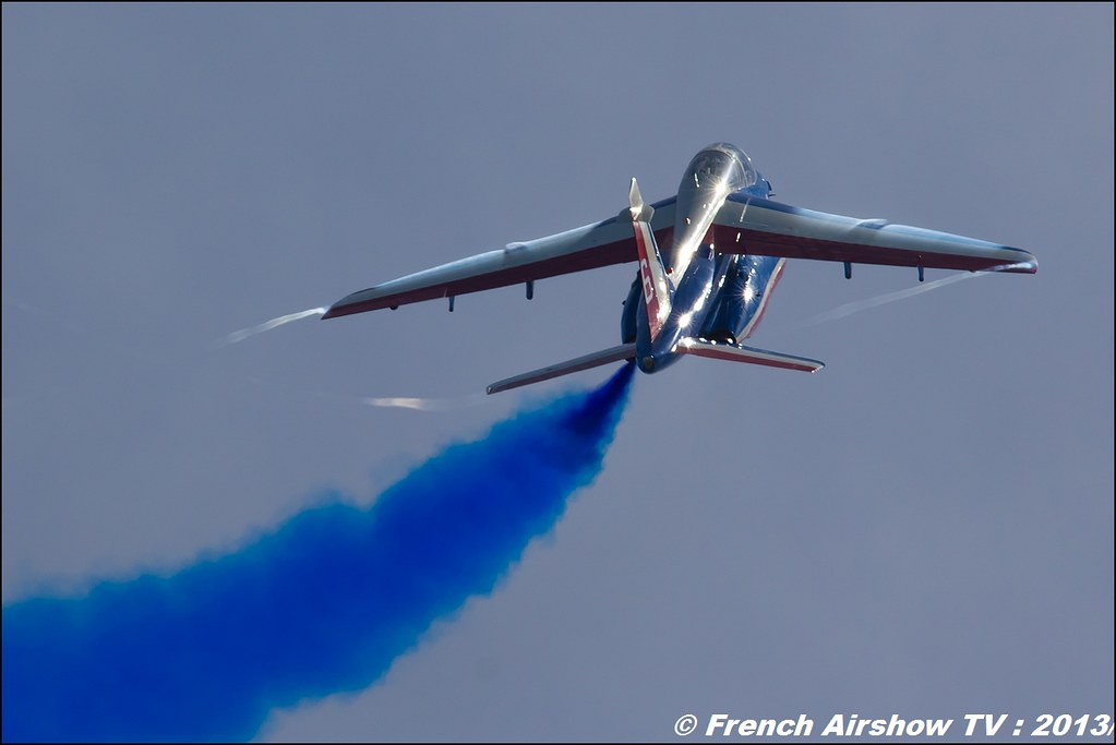 Patrouille de France: 60 ans, Salon BA-701,Meeting Aerien 2013