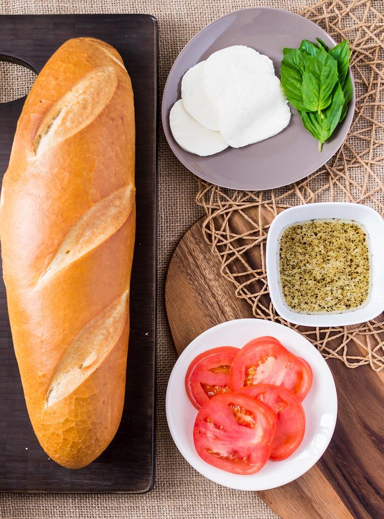 Margherita Panini Ingredients Spread