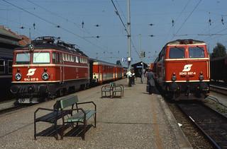 10.08.88 Kalagenfurt Hbf   1042.617   & 2043.557