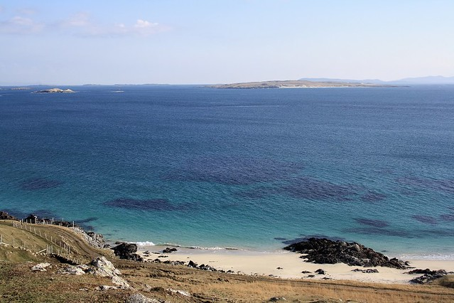 The Mediterrean waters of Harris