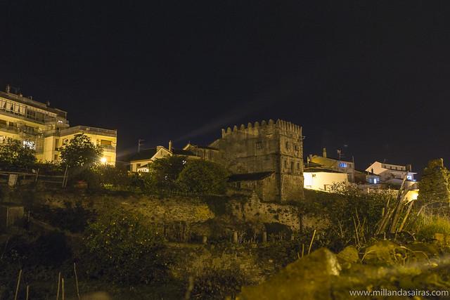 Torre de la antigua fortaleza de Ribadeo