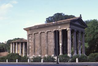 Temple of Portunus (also known as the Temple of Fortuna Virilis)